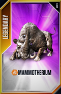 Mammotherium New Card