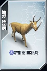 Synthetoceras Card