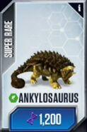 Ankylosaurus JWTG