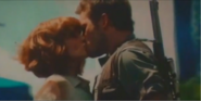 Owen and Claire kiss