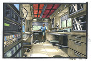 TLW mobile lab inside concept