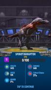 Spinotahraptor JWA