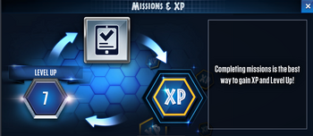 Missions and XP JWTG