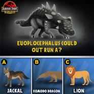 Euoplocephalus run quiz