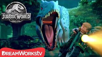 FULL EPISODE Indominus Escape! LEGO JURASSIC WORLD