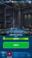 Quetzalcoatlus Hologram JWA