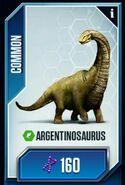 Argentinosaurus jwtg card