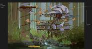 Camp Cretaceous Lodge Concept Art 9