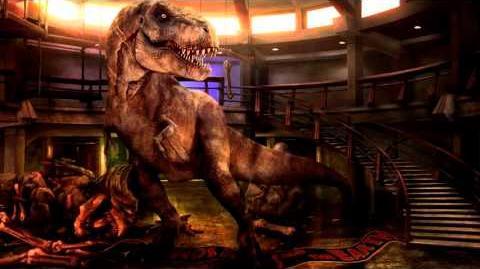 Jurassic Park-World T-Rex Sound Effects