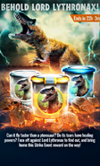 Lord Lythronax Event