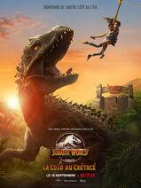 Jurassic World Colo du Crétacé Poster 1