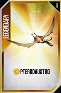 Pterodaustro Card