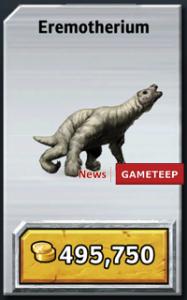 Jurassic Park Builder Eremotherium 187x300