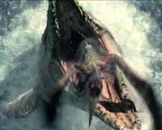 Mosasaurus Zara death