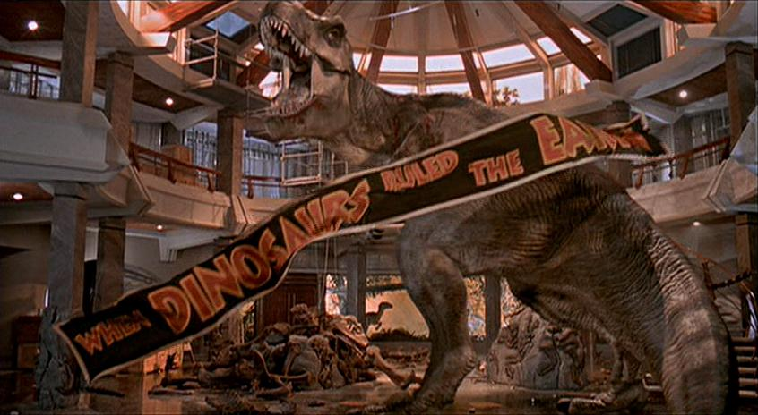 Image result for t rex jurassic park 1