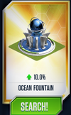 Ocean Fountain Card
