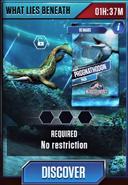 What Lies Beneath (Prognathodon)