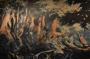 Carnotaurus mural