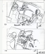 Geosternbergia spears a pilot on storyboard