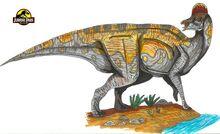 Jurassic Park Corythosaurus by hellraptor