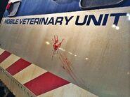 JW Mobile Veterinary Unit blood