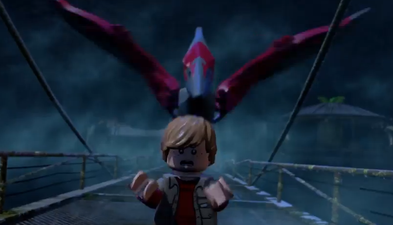 Imagen - LEGO Jurassic World The Videogame Pteronandon.PNG ...