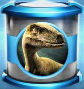 Velociraptor Large Blue Incubator