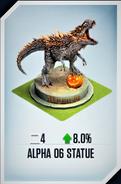 Alpha 06 Statue Card