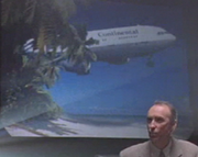 Continental Airlines Jurassic Park