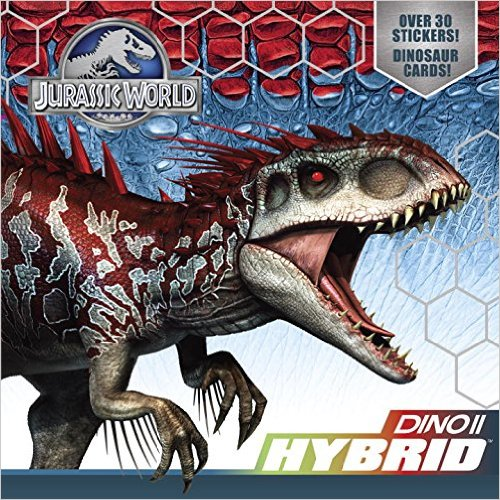 Jurassic World Dino Hybrid book