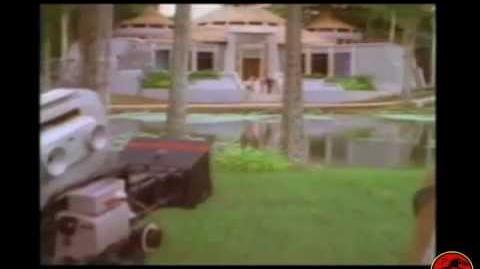 Jurassic Park Deleted Scene - Warning - LOUD audio