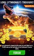 Lord Lythronax's Treasure News