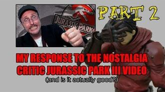 My Response to the Nostalgia Critic Jurassic Park III video (and is it actually good) - Part 2