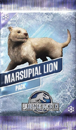 Marsupial Lion Pack