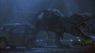 Tyrannosaurus Rex Escapes