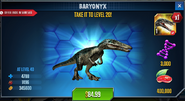 Baryonyx Special Offer