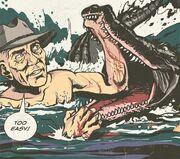 Roland tembo crocodile