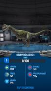 Dilophosaurus JWA