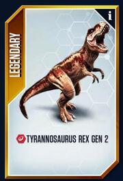 T Rex Gen 2 card