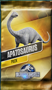 Apatosaurus Pack (without price)