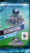 Decorations WWF Pack