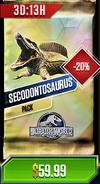 Secodontosaurus Pack Discounted