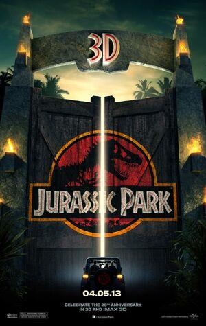 Jurassic Park 3D 2013