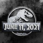 Jurassic World 3 - Preliminary logo