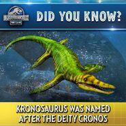 Kronosaurus Fact JWTG