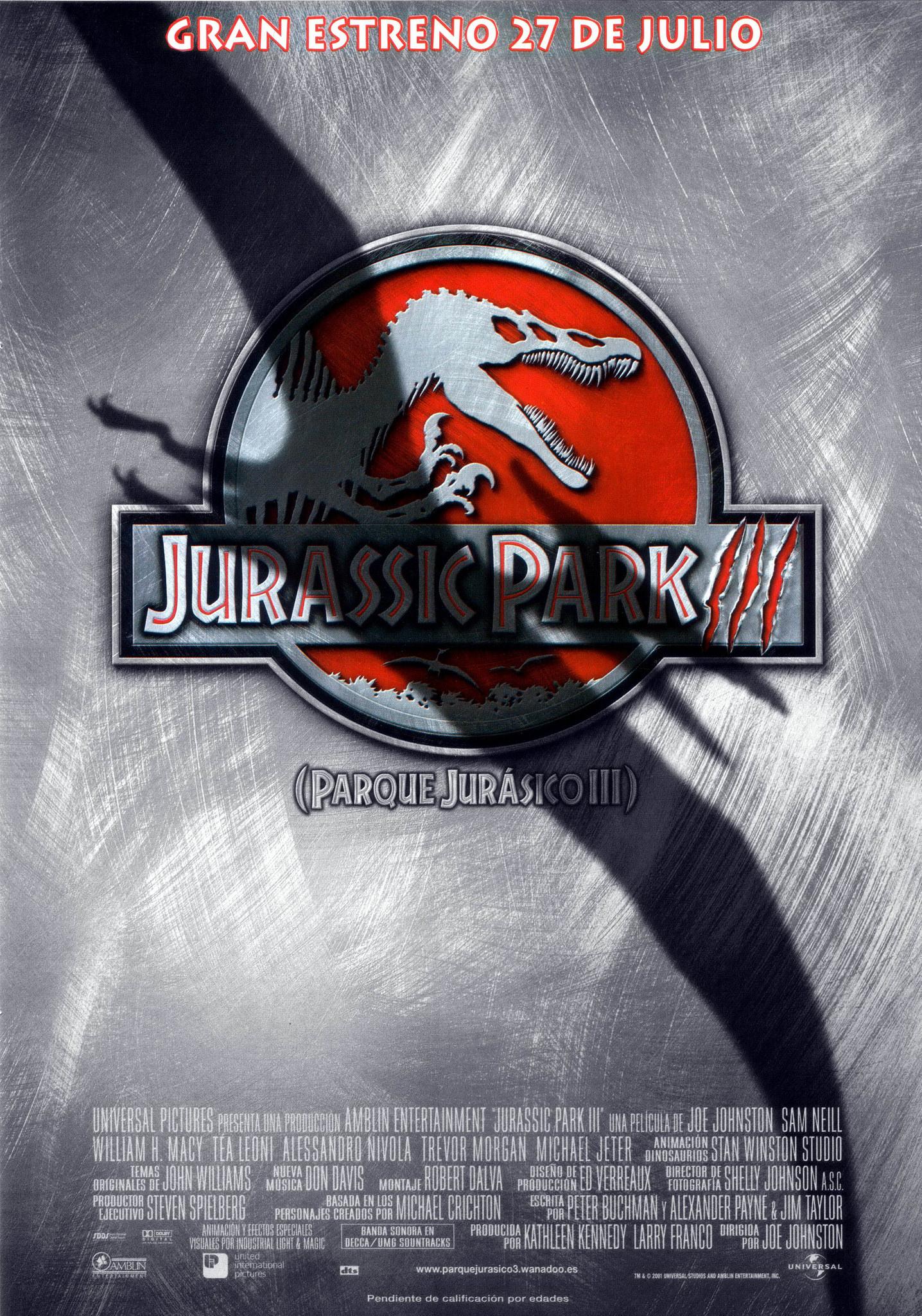 Parque Jurásico Iii Jurassic Park Wiki Fandom