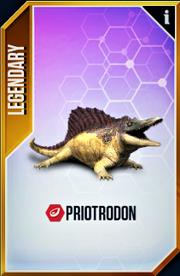 Priotrodon Card