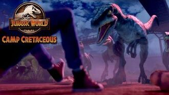 Teaser JURASSIC WORLD CAMP CRETACEOUS NETFLIX