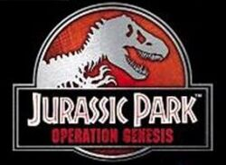 Jurassic-Park-Operation-Genesis Logo