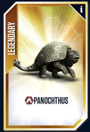 Panochthus New Card